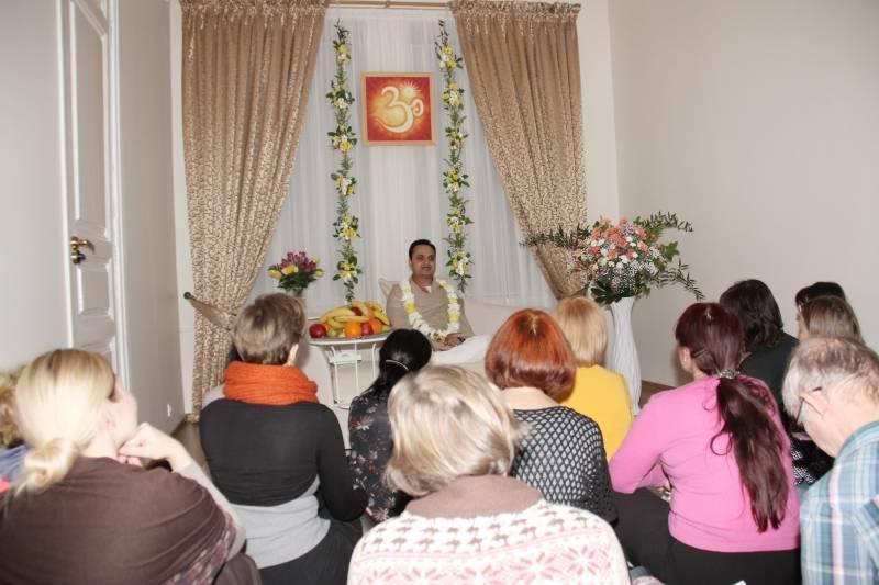 Dvasinio Mokytojo susitikimas su mokiniai