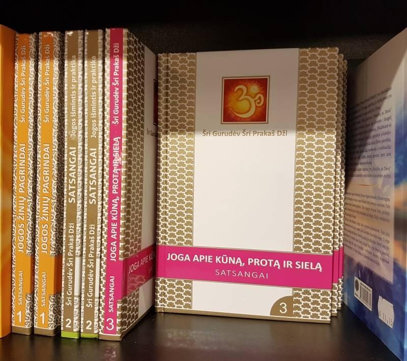 Šri Prakaš Dži satsangų knygos